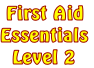 First Aid Essentials    Level 2